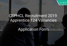 CSPHCL Recruitment 2019 Apprentice 124 Vacancies