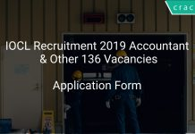 IOCL Recruitment 2019 Accountant & Other 136 Vacancies