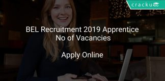 BEL Recruitment 2019 Apprentice No of Vacancies