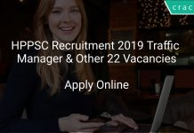 HPPSC Recruitment 2019 Traffic Manager & Other 22 Vacancies