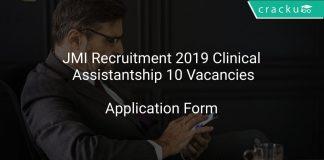 JMI Recruitment 2019 Clinical Assistantship 10 Vacancies