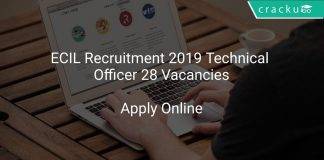 ECIL Recruitment 2019 Technical Officer 28 Vacancies