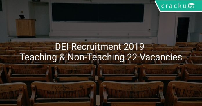 DEI Recruitment 2019