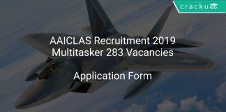 AAICLAS Recruitment 2019 Multitasker 283 Vacancies