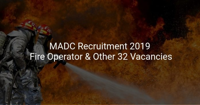 MADC Recruitment 2019