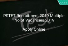 PSTET Recruitment 2019 Multiple No of Vacancies 2019