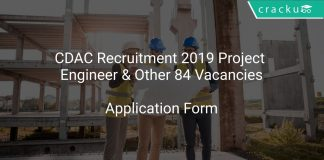 CDAC Recruitment 2019 Project Engineer & Other 84 Vacancies