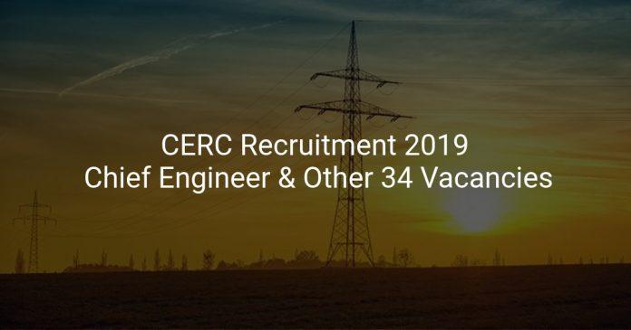 CERC Recruitment 2019