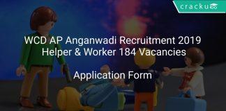 WCD AP Anganwadi Recruitment 2019