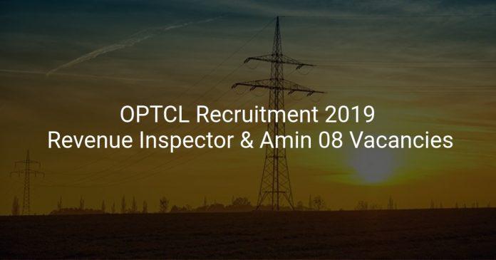 OPTCL Recruitment 2019