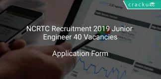 NCRTC Recruitment 2019 Junior Engineer 40 Vacancies