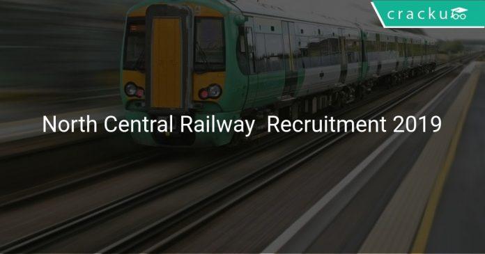 North Central Railway Apprentice Recruitment 2019
