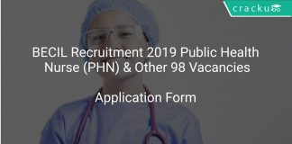 BECIL Recruitment 2019 Public Health Nurse (PHN) & Other 98 Vacancies