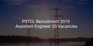 PSTCL Recruitment 2019