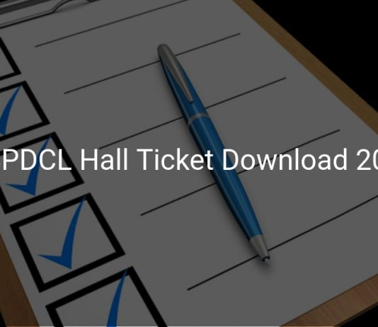 TSSPDCL Hall Ticket Download 2019