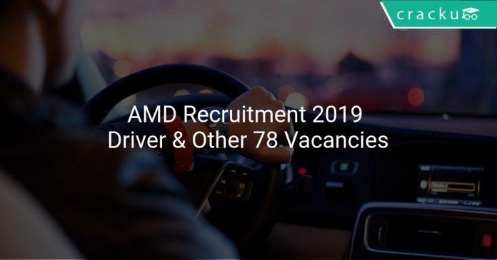 AMD Recruitment 2019
