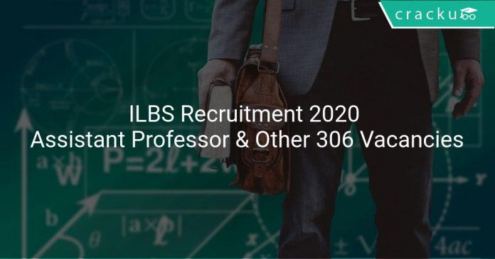 ILBS Recruitment 2020