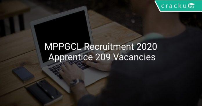 MPPGCL Recruitment 2020