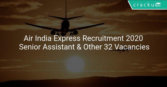 Air India Express Recruitment 2020