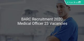 BARC Recruitment 2020 Medical Officer 23 Vacancies