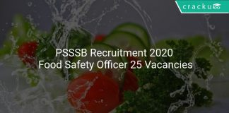 PSSSB Recruitment 2020