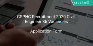 GSPHC Recruitment 2020 Civil Engineer 36 Vacancies