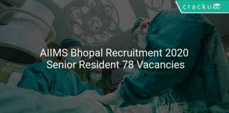 AIIMS Bhopal Recruitment 2020
