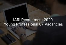IARI Recruitment 2020