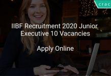 IIBF Recruitment 2020