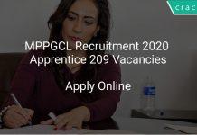 MPPGCL Apprentice Recruitment 2020