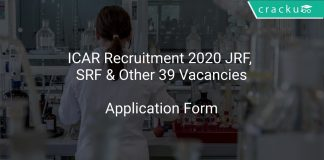 ICAR IIRR Recruitment 2020