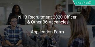 NHB Recruitment 2020 Notification