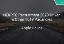 NEKRTC Driver Recruitment 2020