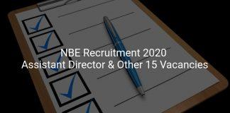 NBE Recruitment 2020
