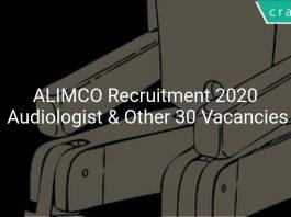 ALIMCO Recruitment 2020