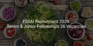 FSSAI Recruitment 2020