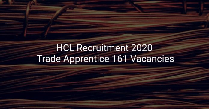 HCL Recruitment 2020