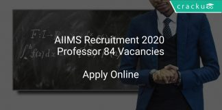 AIIMS Teaching Recruitment 2020