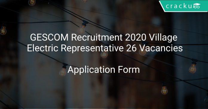 GESCOM Recruitment 2020