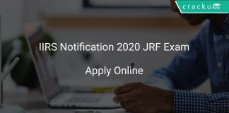 IIRS JET 2020 Notification