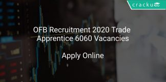 Ordnance Factory Board Recruitment 2020