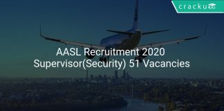 AASL Recruitment 2020