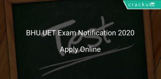 BHU UET 2020 Exam Notification