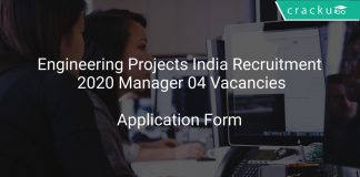 Engineering Projects India Recruitment 2020
