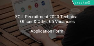 ECIL Recruitment 2020 Technical Officer & Other 05 Vacancies