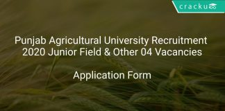 PAU Recruitment 2020