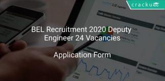 BEL Recruitment 2020 Deputy Engineer 24 Vacancies