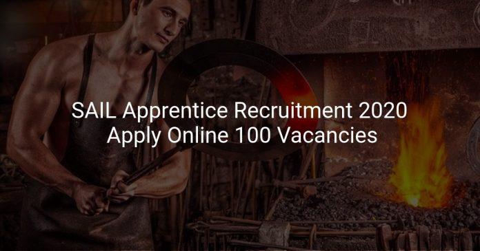 SAIL Apprentice Recruitment 2020