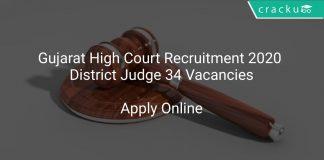 Gujarat High Court Recruitment 2020
