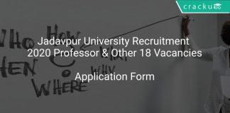 Jadavpur University Recruitment 2020 Professor & Other 18 Vacancies
